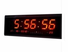 Голям LED електронен часовник с дата Tingiang Tl-4819в