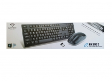 Безжична клавиатура HK-3920 2,4GHz с безжична мишка