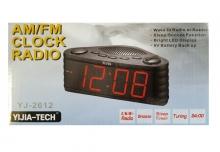 Радио часовник с LED дисплей