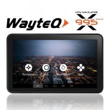 Четириядрена GPS навигация ЗА КАМИОН с Android Wayteq x995 Max, 7 инча, Wi-fi