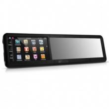 Огледало с монитор GPS навигация и 4.3 инча за обратно виждане, Bluetooth