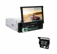 Единичен дин за камион за вграждане AT 7158G, GPS, Bluetooth, 7 инча + КАМЕРА