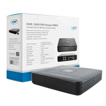 DVR - NVR PNI House H804 - 8 канала IP Full HD 1080P или 4 аналогови канала