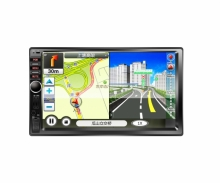 Универсален двоен дин WC7021,GPS, SD, USB, 7 инча