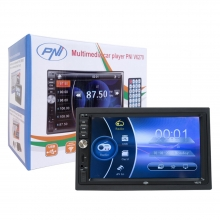 Универсална мултимедия двоен дин PNI V6270 MP3 MP5, Bluetooth, USB, 7 инча + КАМЕРА