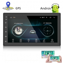 Универсална навигация двоен дин с Android 8.1 AT 1018, GPS, WiFi, 7 инча