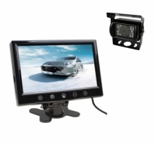 Камера за камион за паркиране + 10.1 инчов монитор с 2 видео входа