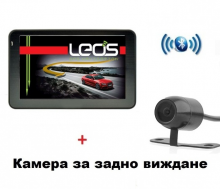 Двуядрена GPS навигация LEOS M6BT - 5 инча, 800MHZ, 256MB RAM, 8GB, Bluetooth